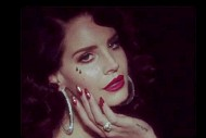 Lana Del Rey Cries Diamond Tears in