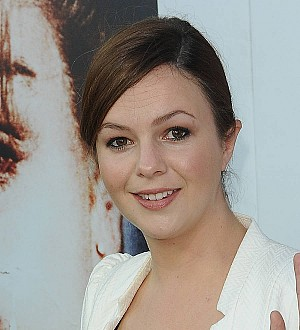 Actress Amber Tamblyn dresses up as presidential nominee for TV show