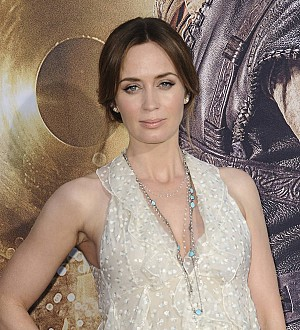 Emily Blunt is a second-time mother