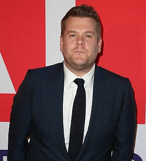 James Corden lands birthday treat onstage with Coldplay