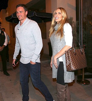 Ryan Lochte is a new dad