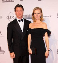 Eva Herzigova gives birth to baby boy