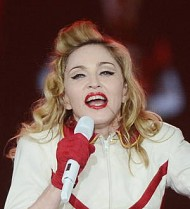 Madonna to donate MDNA tour costumes for Sandy relief effort