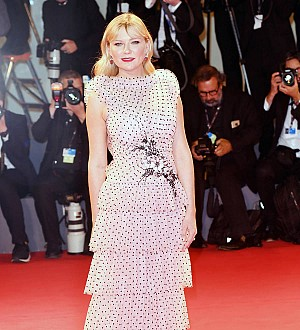 First-time filmmakers created pal Kirsten Dunst's Venice dress