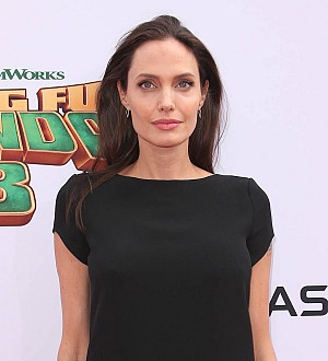 Angelina Jolie serves BBC film crew spiders and scorpions
