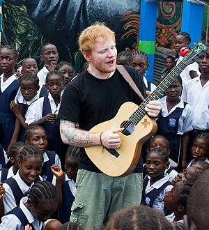 Ed Sheeran Sings With Ebola Orphans on Liberia Visit