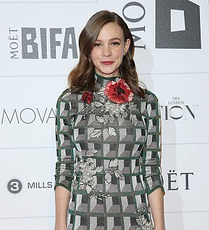 Carey Mulligan is a new mom