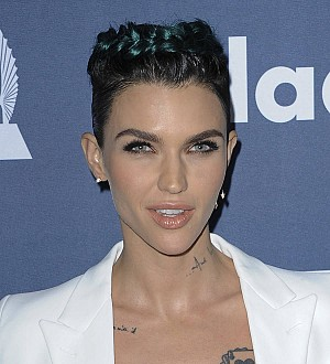 Orange is the New Black star Ruby Rose goes green at GLAAD prizegiving