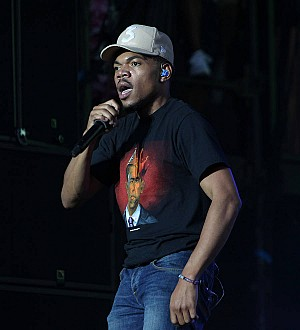 Chance the Rapper stunned by Barack Obama message at parade gig