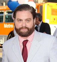 Zach Galifianakis returns to former workplace on manager's request