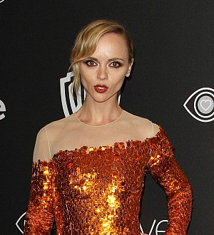 Christina Ricci and Andrew Rannells kissed one New Year's Eve
