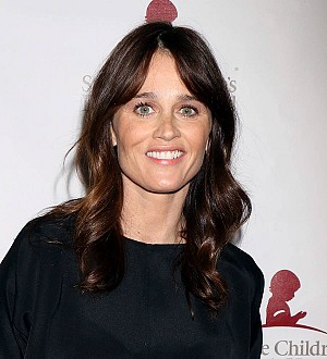 Actress Robin Tunney is a first-time mom