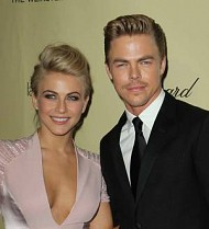Julianne and Derek Hough developing ballroom dancing show