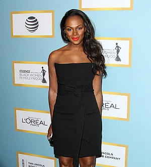 Tika Sumpter is a first-time mom