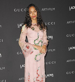 Zoe Saldana's twin boys fight like 'gangsters'