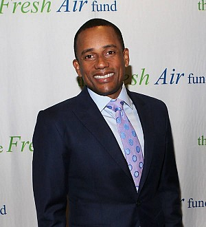 Hill Harper opens up about first-time fatherhood after adopting son