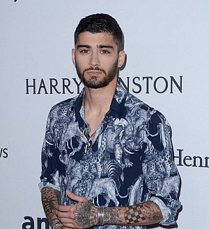 Zayn Malik works with Iron Maiden cover artist on fan merchandise