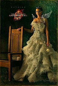 Katniss & Co. Vogue for 'Catching Fire' Posters