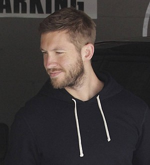 Calvin Harris 'sending flirty messages to British reality star'
