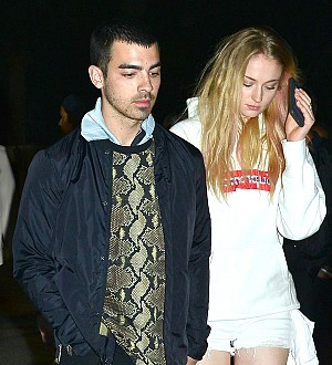 Joe Jonas and Sophie Turner get steamed up in Mexico