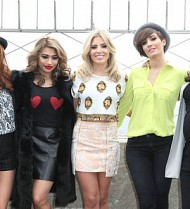 The Saturdays in trouble over visa pictures