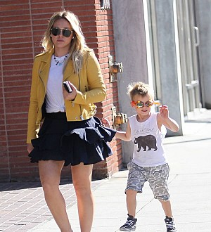 Hilary Duff fears her son is set to be a star - just like her