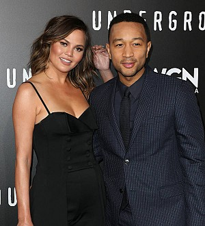 John Legend's daughter speaks first word on Moroccan vacation