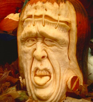 Not Your Grandaddy's Jack O'Lantern: Pumpkin-Carving Goes to New Extremes!