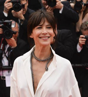 Sophie Marceau suffers another wardrobe malfunction at Cannes