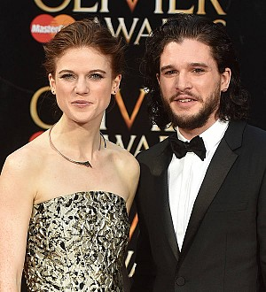Kit Harington and Rose Leslie go public with romance on the red carpet