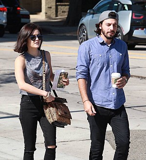Lucy Hale splits from boyfriend - report
