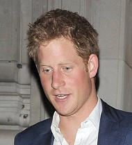 Prince Harry goes public with model romance