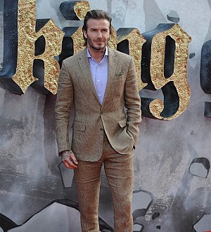 David Beckham's acting skills receive high praise at King Arthur premiere