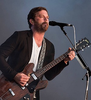 Caleb Followill loved playing in London sunshine