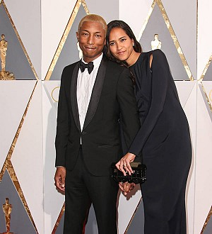 Pharrell Williams and wife Helen Lasichanh happy with two boys and a girl