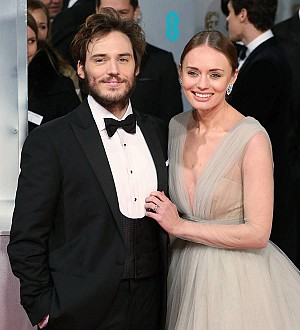 Sam Claflin is a first-time father