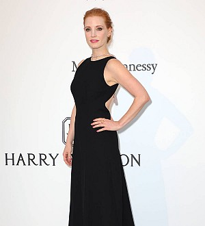 Jessica Chastain posts emotional video after Twitter exchange