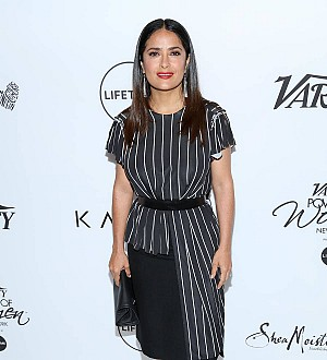 Salma Hayek left embarrassed after her dogs crashed a wedding