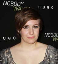 Lena Dunham adopts rescue dog