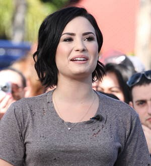 Demi Lovato posts sneaky gym shot of boyfriend online