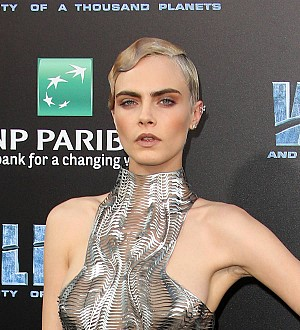 Cara Delevingne laughed hysterically after suffering Valerian injury