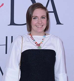 Lena Dunham is crazy for Clinton