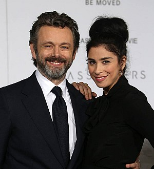 Sarah Silverman and Michael Sheen's romance has become long-distance