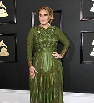 Adele appears to confirm marriage rumors with reference to 'husband'